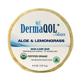 DermaQOL Aloe and Lemongrass Skincare Bar - Embrace Worcester
