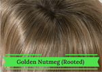 Golden Nutmeg Rooted - Hairware