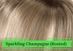 Sparkling Champagne Rooted - Hairware