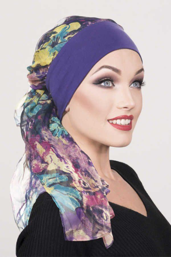Elisa Purple & Gold Shimmer